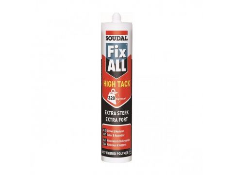 Soudal fix all high tack 290ml  blanc