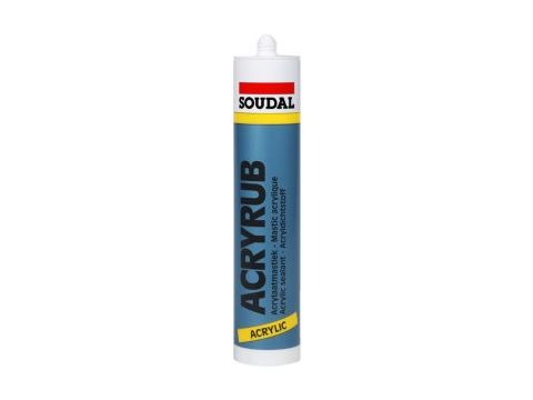Soudal acryrub 310ml wit 15