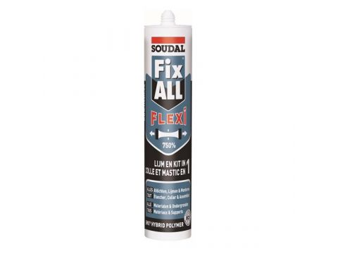 Soudal fix all 290ml wit