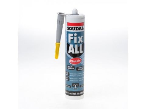 Soudal fix all 290ml  grijs