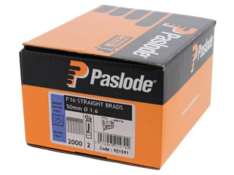 Pasl nagels fuel pack f16 brads 50mm glv