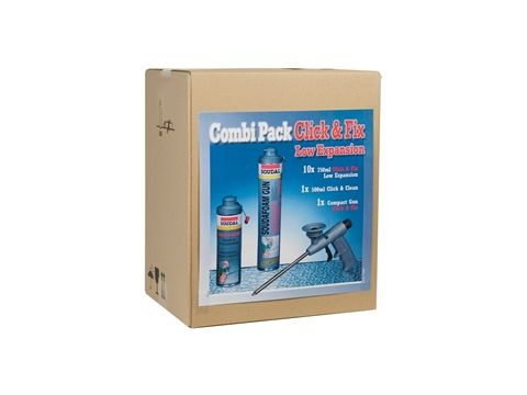 Soudal combi pack c&f low expansion