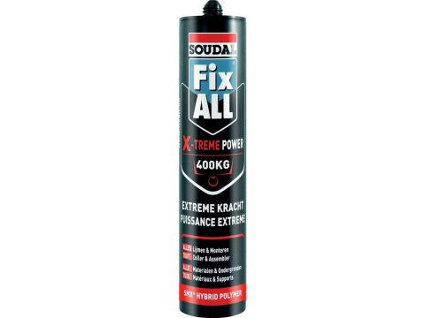 Soudal fix all x-treme power blanc
