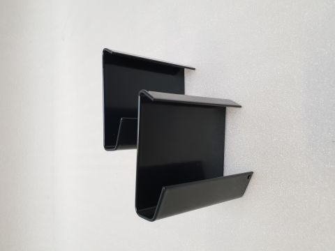 Alu rive toit clips raccord exter couleur ral