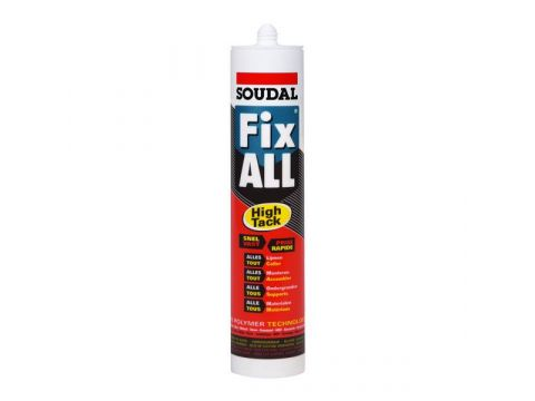 Soudal fix all high tack 290ml  noir