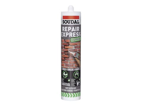 Soudal ciment repair 300ml gris