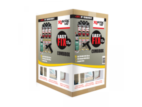Recta easy fix 17m2 combibox set