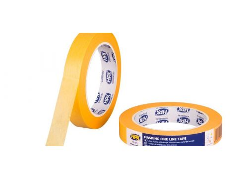 Hpx masking tape 4400 orange 25mmx25m