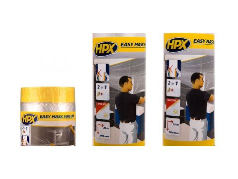 Hpx easy mask film mask tape gold 1100mmx33m