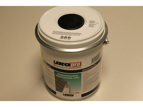 Ikopro renovation zinc   1,5 litre eur/pot