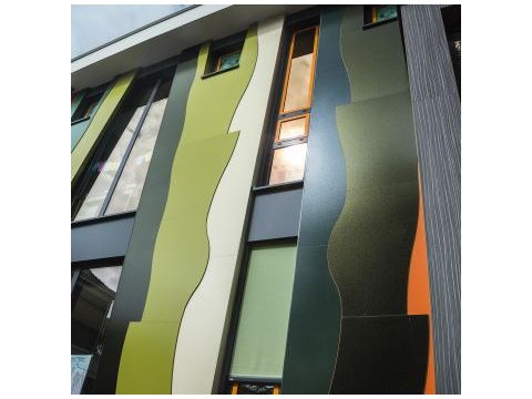 Rockpanel colours 8mm 2500x1200  ral 6009
