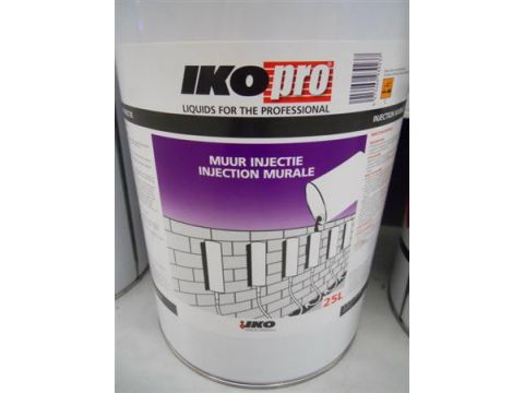 Ikopro injection mur 25l   eur/pot