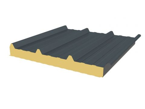 Ji roof 45. 333 5,1x1,05 7016 100mm 5,36m2/pl