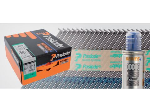 Pasl clous im90ci 90x3,1 + tube a gaz p2500pc