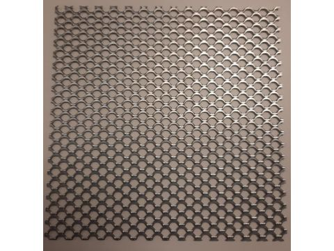 Zinc tole perfore 2000x1000x1mm