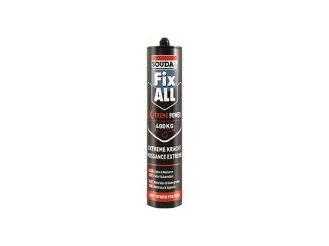 Soudal fix all x-treme power noir