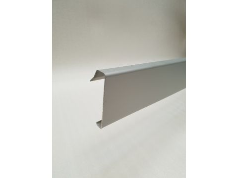 Alu rive toit clips nf couvre-joint brut