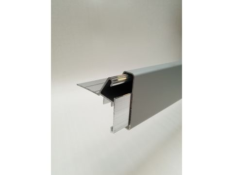 Alu rive toit clips couvre-joint anod 3m/pc