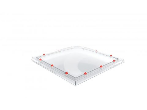 Coupole 3p 100/230 heatstop polycarbonate